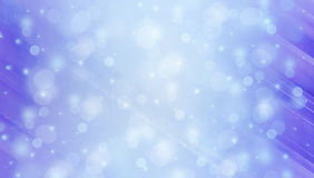 Abstact winter background with bokeh lights Stock Photos