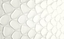 Abstact witte futuristische muur 3d geef terug vector illustratie