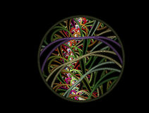 Abstactfractal beeld Royalty-vrije Stock Fotografie