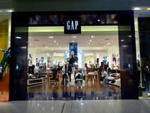 ABSTAND Einzelhandelsgeschäft Stockbild