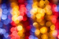 Abstarct圈子五颜六色的假日背景 免版税库存图片