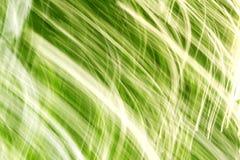 Предпосылка зеленого цвета движения Abstarct Стоковые Фотографии RF