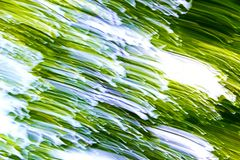 Предпосылка зеленого цвета движения Abstarct Стоковое Изображение