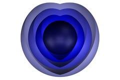 Abstarct background. 3D rendering. Spheres abstarct background. 3D rendering royalty free illustration