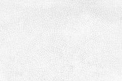 Abstarct bakgrund från sprucken textur på den vita keramiska plattan Royaltyfri Foto