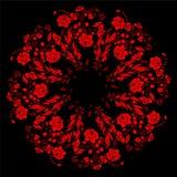 Abstarct blom- modell Royaltyfria Bilder