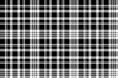 Abstarct check pixel seamless pattern black white. Vector illustration Stock Illustration