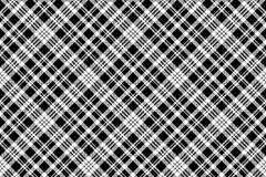 Abstarct check pixel seamless pattern black white. Vector illustration Stock Photography