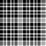 Abstarct check pixel seamless pattern black white. Vector illustration Royalty Free Illustration