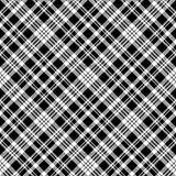 Abstarct check pixel seamless pattern black white. Vector illustration Stock Image