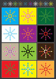 Colorful Shape Divider_eps. Illustration of colorful shape divider Stock Photography