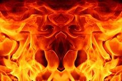 Abstarct d'incendie image libre de droits