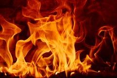 Abstarct d'incendie Photographie stock libre de droits