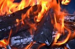Abstarct d'incendie Photos stock
