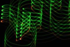 Abstarct da iluminação Fotografia de Stock