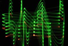 Abstarct da iluminação Imagens de Stock Royalty Free