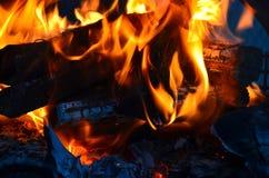 Abstarct do incêndio Fotos de Stock