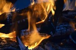 Abstarct do incêndio Foto de Stock