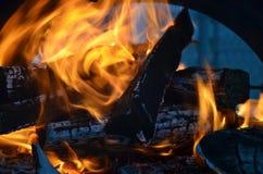 Abstarct do incêndio Imagens de Stock Royalty Free