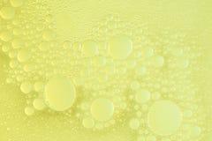 Abstarct genomskinliga bubblor Arkivfoton