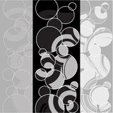 Abstarct geometrcibakgrund illustration Arkivfoto