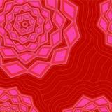 Abstarct geometrisk modell illustration Royaltyfri Foto