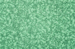 Abstarct green pattern on fabric. Stock Images