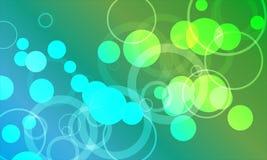 Abstarct Hintergrund mit Kreisen Lizenzfreie Stockfotos