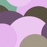 Abstarct-Kreishintergrund Stockbild