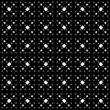 Abstarct pattern with small geometric spots. Vector monochrome seamless texture. Modern stylish minimalist pattern. Simple dark abstract background with small Stock Photos