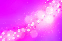 Abstarct pink lights bokeh background Stock Photography