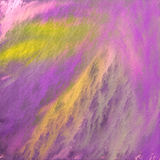 Abstarct purple green. Abstract background texture in purple, green and yellow Stock Photo