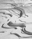 Abstarct Schneehintergrund Lizenzfreies Stockbild