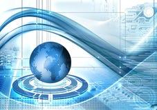 Abstarct Technologiehintergrund stock abbildung