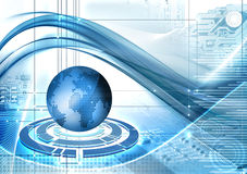 abstarct technologii tła Obraz Stock