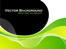 Abstarct vector background with white wave pattern Stock Photo