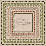 abstarctkanter eller ram från frukt och grönsaken Royaltyfria Bilder