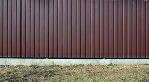 Abstellgleis, Metall täfelt Beschaffenheitsnahaufnahme in der Tageszeit draußen lizenzfreies stockfoto
