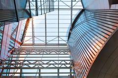 abstellgleis Metallplatten Doppelglasfenster lizenzfreies stockbild