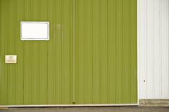 Abstellgleis-Wand stockfotos