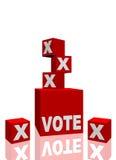 Abstimmung lizenzfreie abbildung