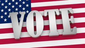 Abstimmung Lizenzfreie Stockfotos