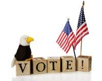 Abstimmung! Stockfoto