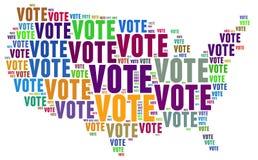 Abstimmung stockfoto