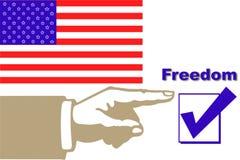 Abstimmung Stockfotografie