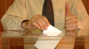Abstimmung Lizenzfreies Stockfoto