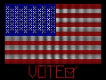 Abstimmung Amercian Stockbild