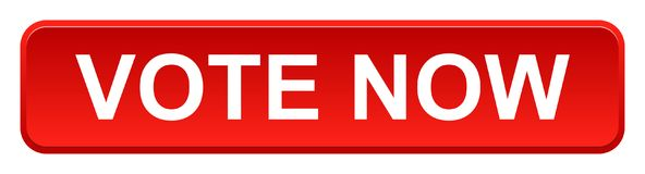 Abstimmung knöpfen jetzt lizenzfreie abbildung