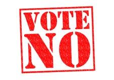 Abstimmung NR vektor abbildung