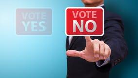 Abstimmung NR Stockfoto